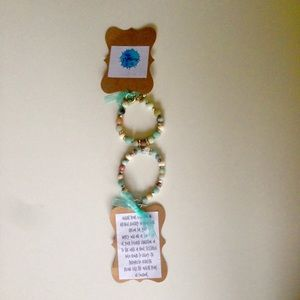 Jewelry - ONE Essential Oil Bracelet Infuse Oils Lava Beads
